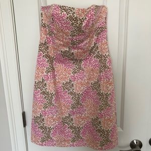 Melly M size 6 strapless dress